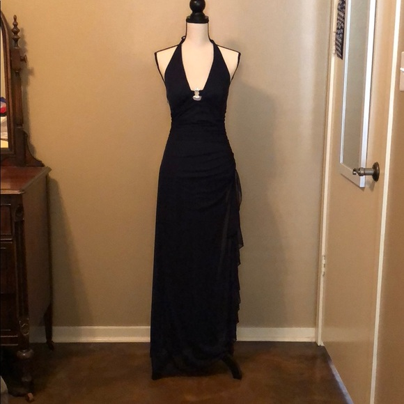 02f116dee05a30 Blondie Nites Dresses | Long Plunge Neck Formal | Poshmark